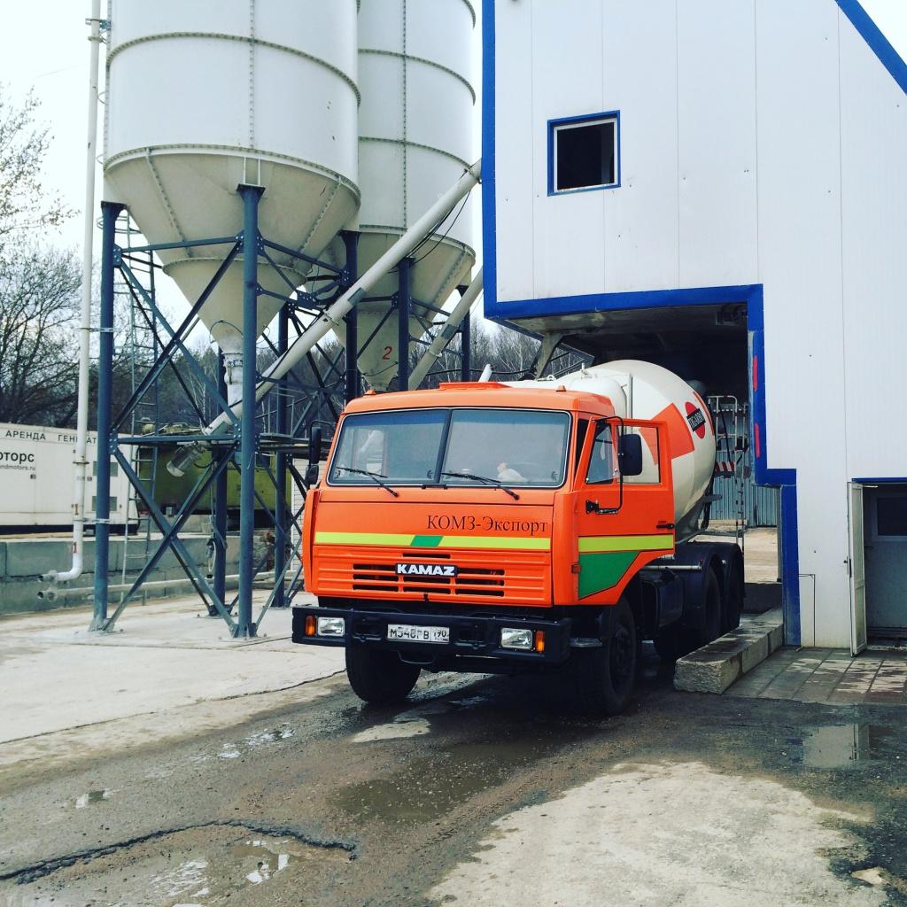 Завод по производству бетона в московской области купить бетон б300